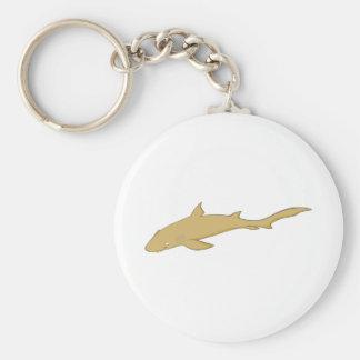 Smiling Nurse Shark Keychain