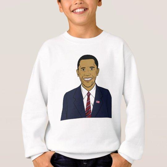 Smiling Obama Sweatshirt