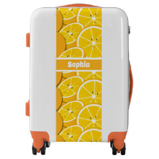 Smiling Oranges Cartoon | Luggage