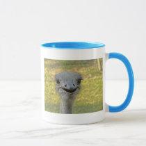 Smiling Ostrich Mug