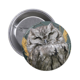 Smiling Owl Buttons