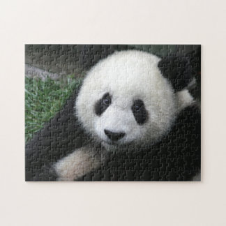 Smiling Panda Bear Jigsaw Puzzle