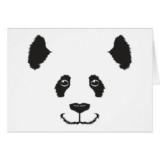 Smiling Panda Card
