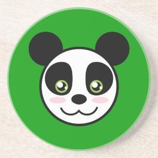 Smiling Panda Drink Coaster