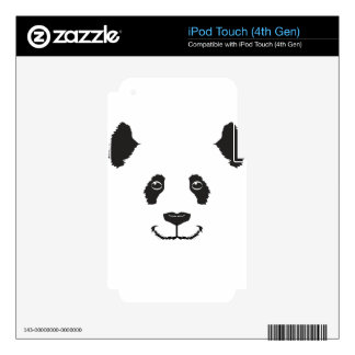 Smiling Panda Decals For iPod Touch 4G