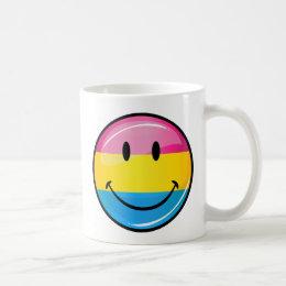 Smiling Pansexual Pride Flag Coffee Mug