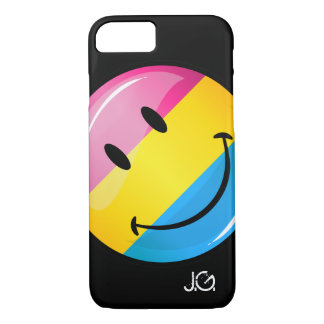 Smiling Pansexual Pride Flag iPhone 8/7 Case
