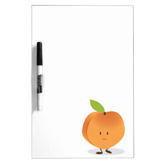 Smiling Peach Dry-Erase Whiteboards