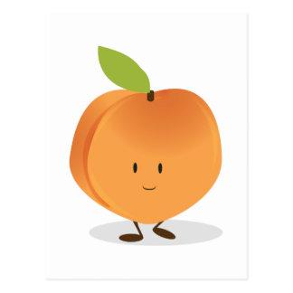 Smiling Peach Postcard