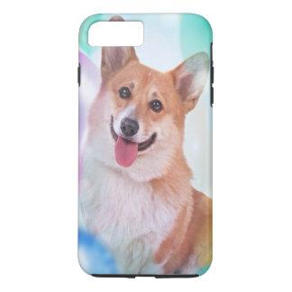 Smiling Pembroke Welsh Corgi dog iPhone 7 Plus Case