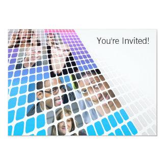 Smiling People Invitation