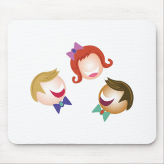 Smiling People Mouse Pad