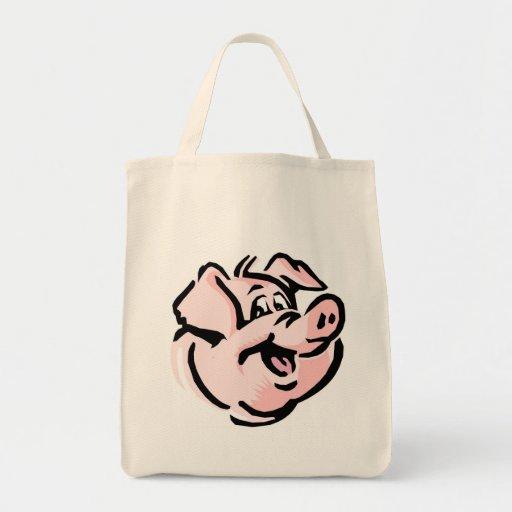 Smiling Pig Bags