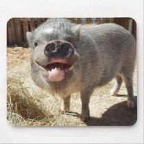 Smiling Pig Mousepad