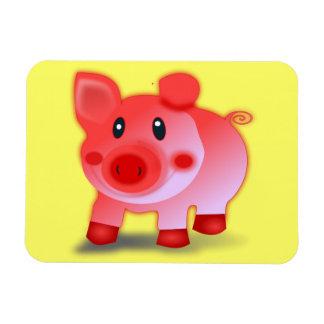 Smiling Piggy Magnet