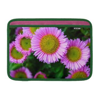Smiling Pink Daisies Sleeves For MacBook Air