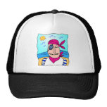 Smiling Pirate Trucker Hat