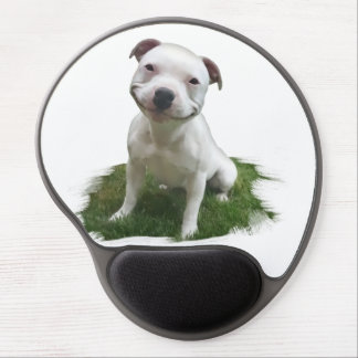 Smiling Pittie Gel Mouse Pad