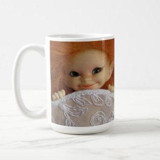 Smiling Pixie Classic White Coffee Mug