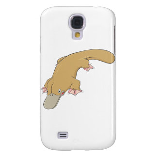 Smiling Platypus Galaxy S4 Cover