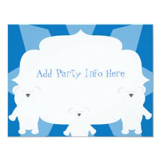 Smiling Polar Bears Card
