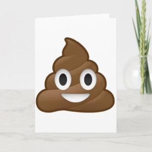 9ba942e55f3ec Smiling Poop Emoji Card