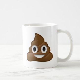 Smiling Poop Emoji Coffee Mug