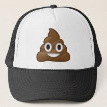 Smiling Poop Emoji Trucker Hat