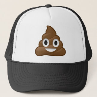 Smiling Poop Emoji Trucker Hat