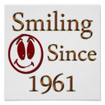 Smiling Poster