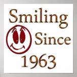 Smiling Poster
