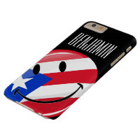 Smiling Puerto Rican Flag Barely There iPhone 6 Plus Case
