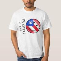 Smiling Puerto Rican Flag T-Shirt