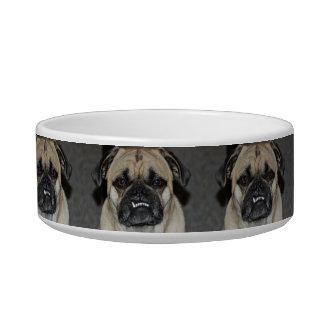 Smiling Pug Dog Bowl