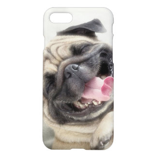 Smiling pug.Funny pug iPhone 8/7 Case