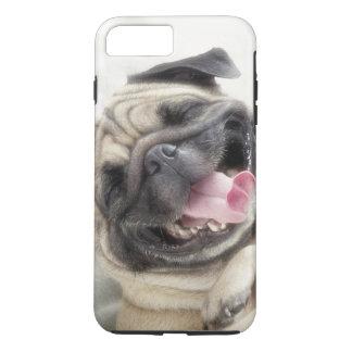 Smiling pug.Funny pug iPhone 8 Plus/7 Plus Case