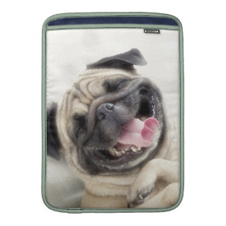 Smiling pug.Funny pug MacBook Air Sleeve