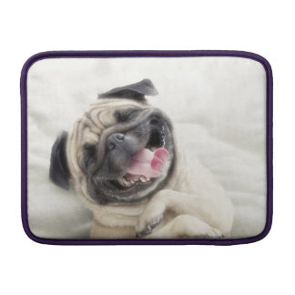 Smiling pug.Funny pug Sleeve For MacBook Air