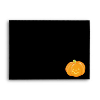 Smiling Pumpkin Envelope