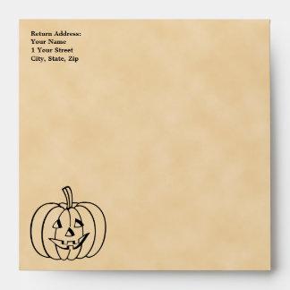 Smiling Pumpkin. Envelope