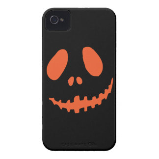 Smiling Pumpkin Face iPhone 4 Cover