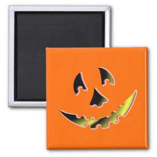 Smiling Pumpkin Face Fridge Magnets