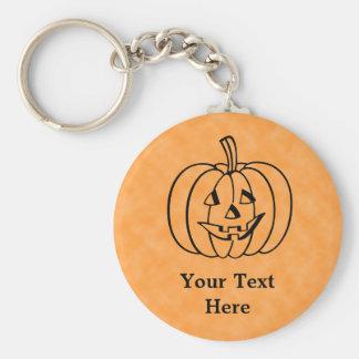 Smiling Pumpkin. Keychain