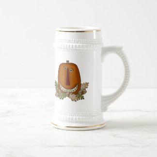 Smiling Pumpkin Coffee Mug