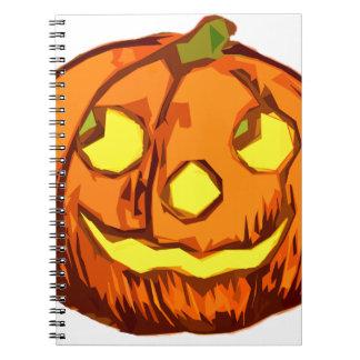 Smiling Pumpking Notebook