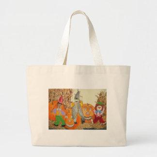 smiling pumpkins bags