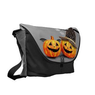 Smiling Pumpkins Courier Bag