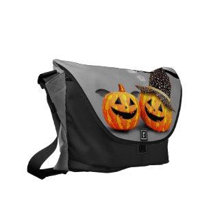 Smiling Pumpkins Messenger Bag