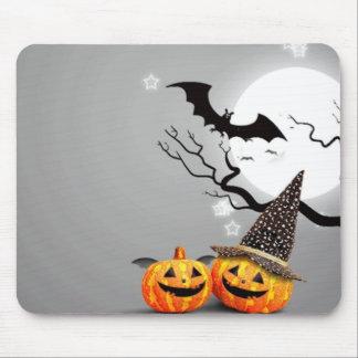 Smiling Pumpkins Mouse Pad