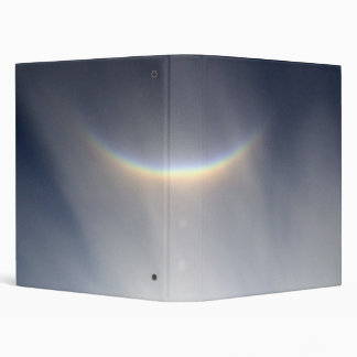 Smiling Rainbow Binder